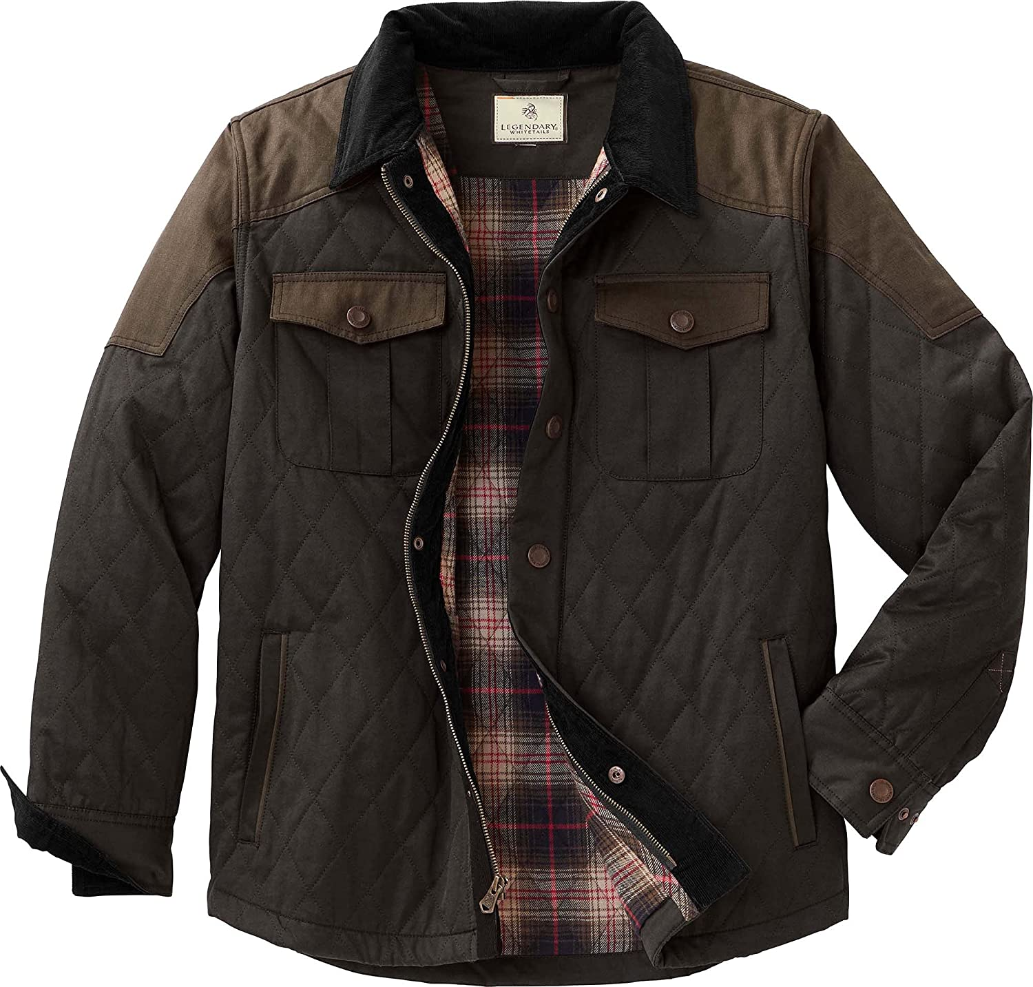 Legendary Whitetails Men's Tough as Buck Quilted Field Jacket