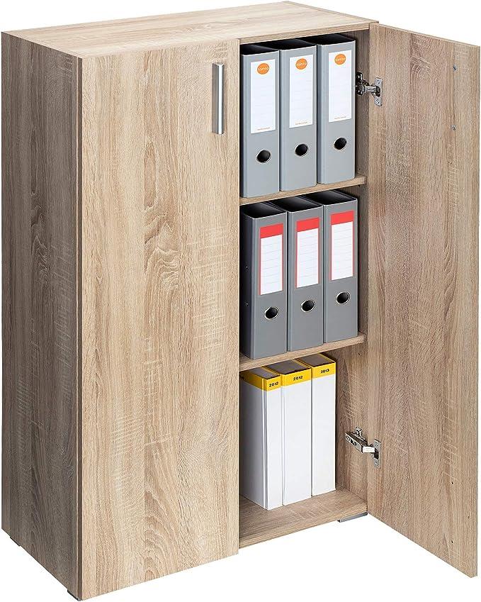 1067 opinioni per Deuba Armadio Archiviazione Documenti Vela 115,5cm 3 Ripiani Mobile Ufficio con