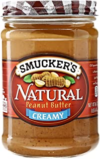 Smucker's Natural Creamy Peanut Butter, 16 oz