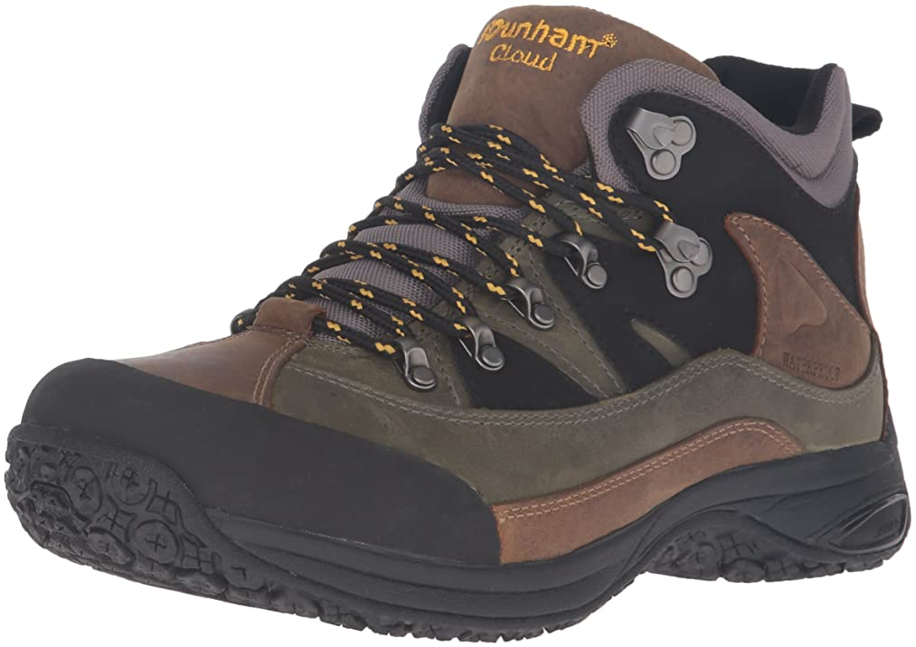 Dunham Men's Cloud Mid-Cut Waterproof Boot, Grey - 15 B(N) US