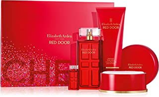 Elizabeth Arden Red Door Eau De Toilette Spray 4 Piece Gift Set, 3.3 Oz.
