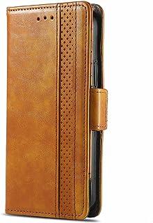 SHHIIA Plånboksfodral för VIVO V9/Y85/Y89 telefonfodral, premium PU-läder plånboksfodral [affärssömmar] flip folio [Kickst...