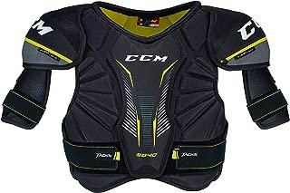 CCM Unisex SP9040 Jr Tacks Hockey Shoulder Pads, Junior, Black, S