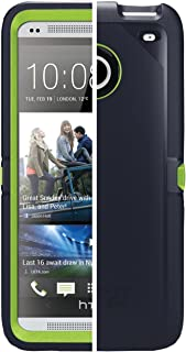OtterBox Defender Series Case for HTC One – Carrier Packaging – Green/Blue..