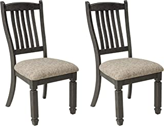 Signature Design by Ashley Tyler Creek Dining Room Chair Set of 2, Antique Black