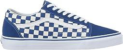 (Primary Check) True Blue/White