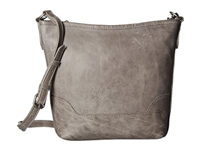 Frye Melissa Small Hobo (Ice) Handbags