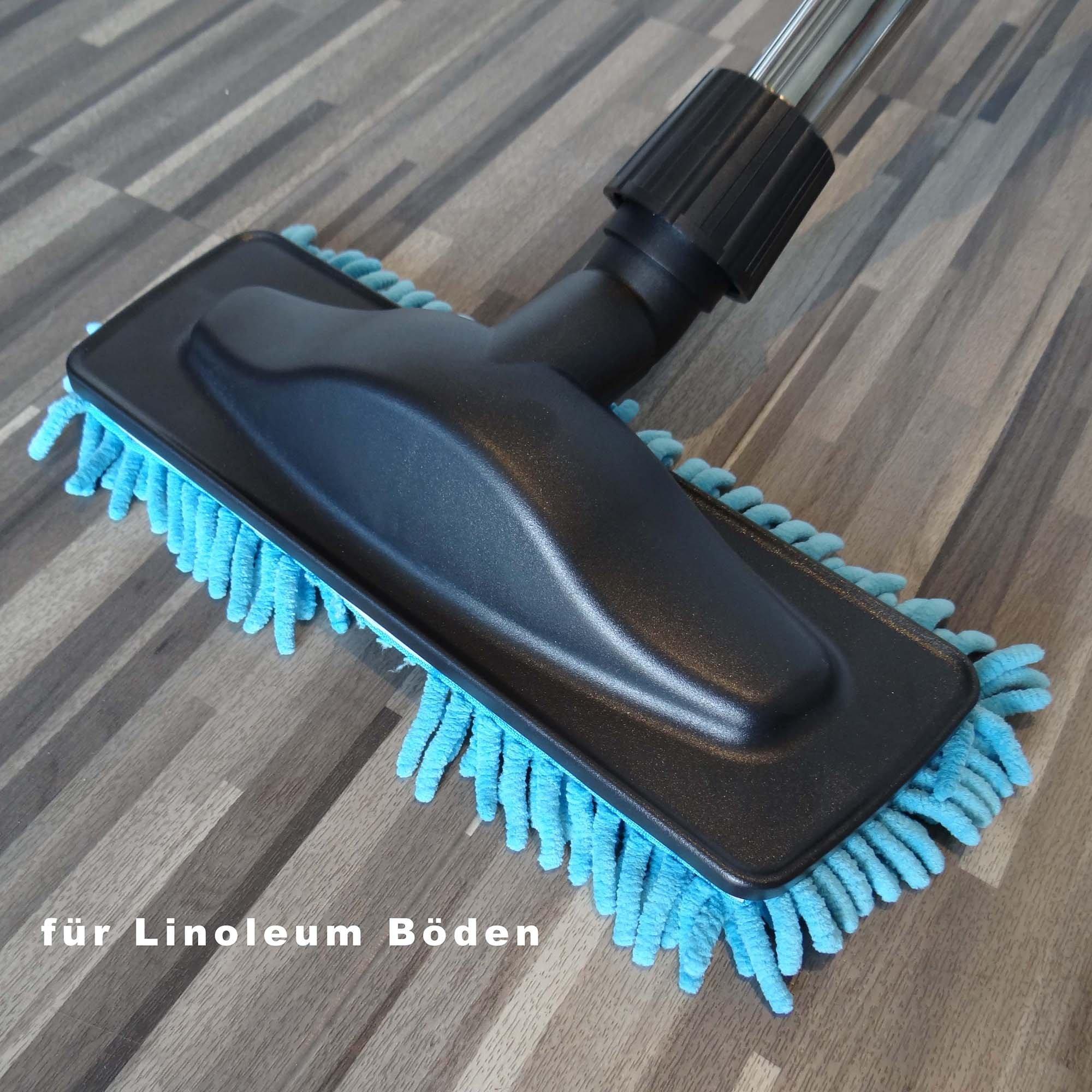 boquilla /& Boquilla para suelo duro en Juego para Nilfisk Power Allergy 3: 3er Set pincel de aspiraci/ón Aspiradora tubo boquilla D/üsen /& Saugrohr