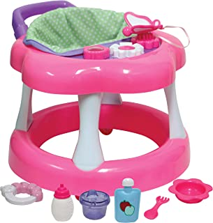JC Toys Baby Doll Walker Playset, Pink