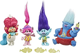 Trolls World Tour Set de Muñecos De Gira por Lonesome Flats