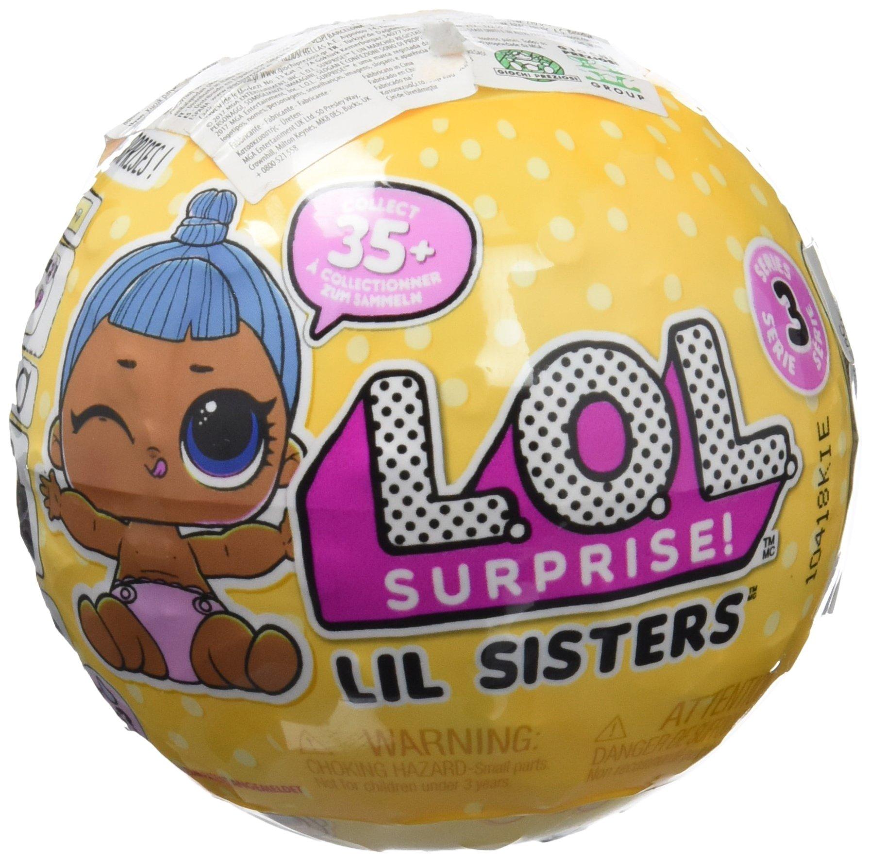 Amazon.es: L.O.L. Surprise! - Surprise Hermanitas, 1 unidad (Giochi Preziosi LLU22000) [modelos surtidos]: Juguetes y juegos