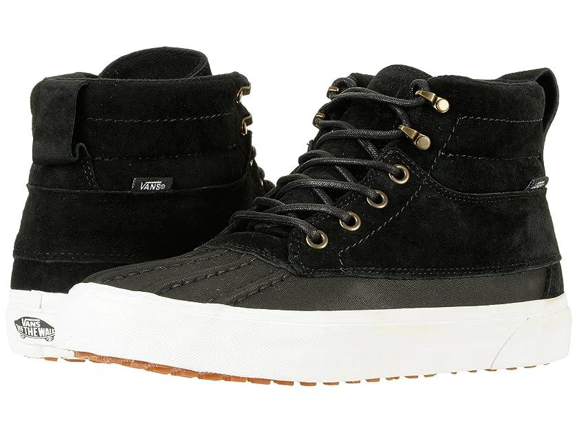 に慣れバンジージャンプ横向き(バンズ) VANS メンズスニーカー?靴 SK8-Hi Del Pato MTE (MTE) Black/True White Men's 10.5, Women's 12 (28.5cm(レディース29cm)) Medium