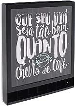 Porta-Cápsulas Cheiro de Café Bistrô Café GeGuton Preto/