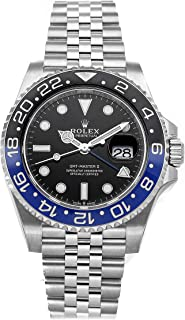 GMT Master II Mechanical (Automatic) Black Dial Mens Watch 126710BLNR (Certified Pre-Owned)