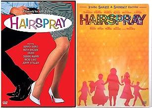 Hairspray Original Movie + Hairspray Musical DVD Set Special Edition Bonus Videos Shimmy Shake