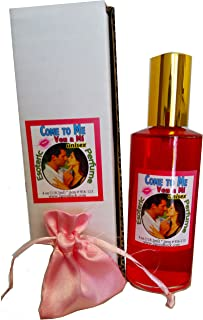 Come to Me Perfume w/Pheromones & Amulet for Rituals & Magic - Perfume Con Feromonas & Amuleto, Ven a Mí, Para Rituales Y Magia.