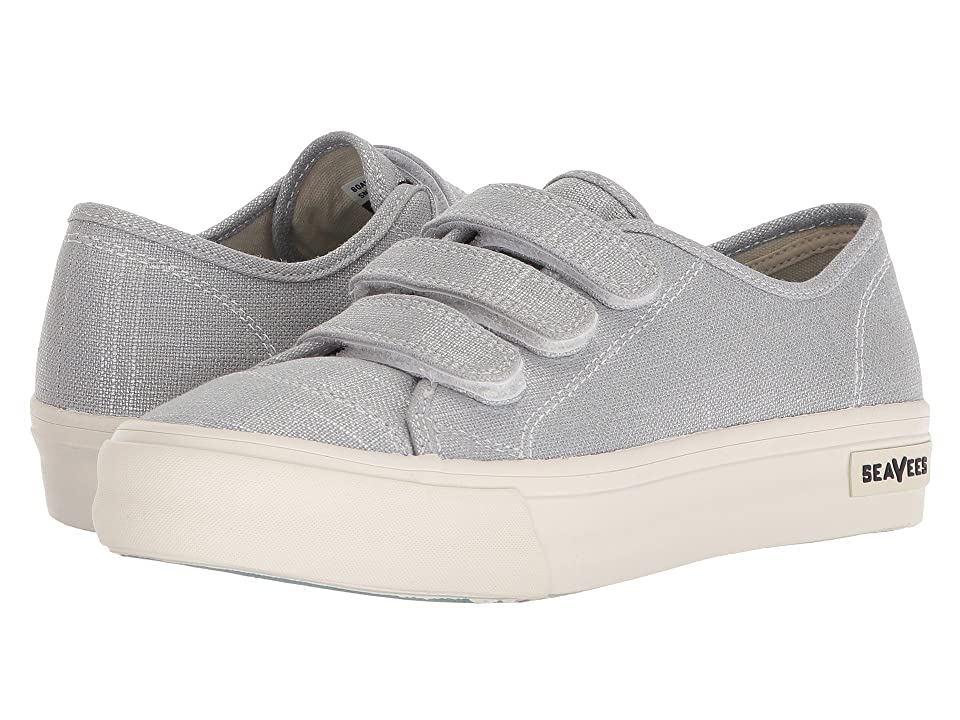 SeaVees Boardwalk Sneaker (Silver) Women