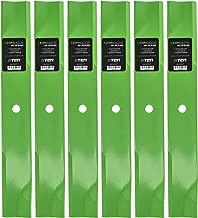 8TEN LawnRAZOR Hi-Lift Blade for Ferris 52 Inch Mower Deck IS500Z IS1500Z IS2500Z 1000Z CCWKAV2152 5021227S 6 Pack