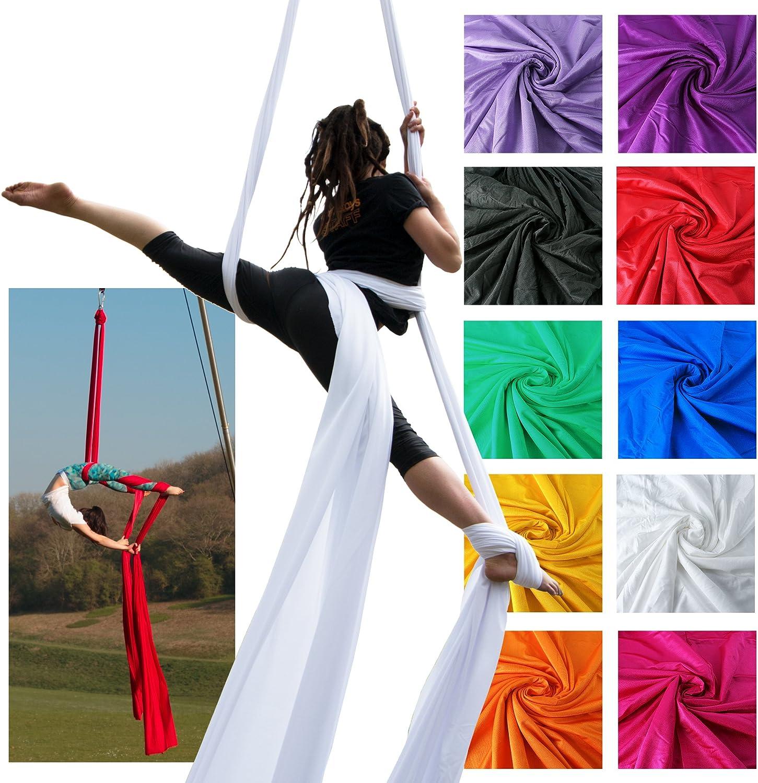 2021 model Firetoys Professional Aerial Silks Stretc Fabric Max 46% OFF Medium Tissues