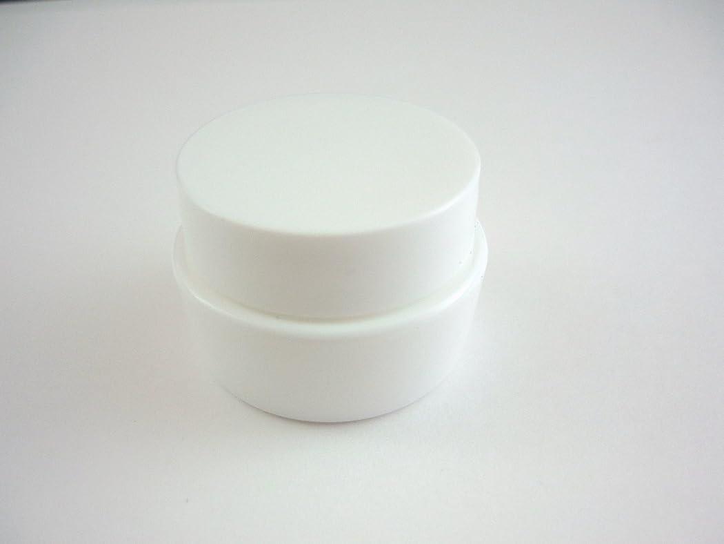 小康キャロライン保証するジェル空容器 3ml   ホワイト