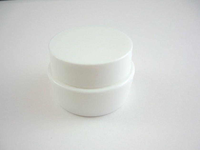 緯度真実に投票ジェル空容器 3ml   ホワイト