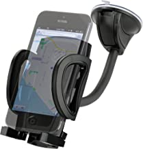 SCOSCHE IHW10-R STUCKUP Universal 4-in-1 Smartphone/GPS Suction Cup/Vent Mount Kit for the Car, Home or Office (Renewed)