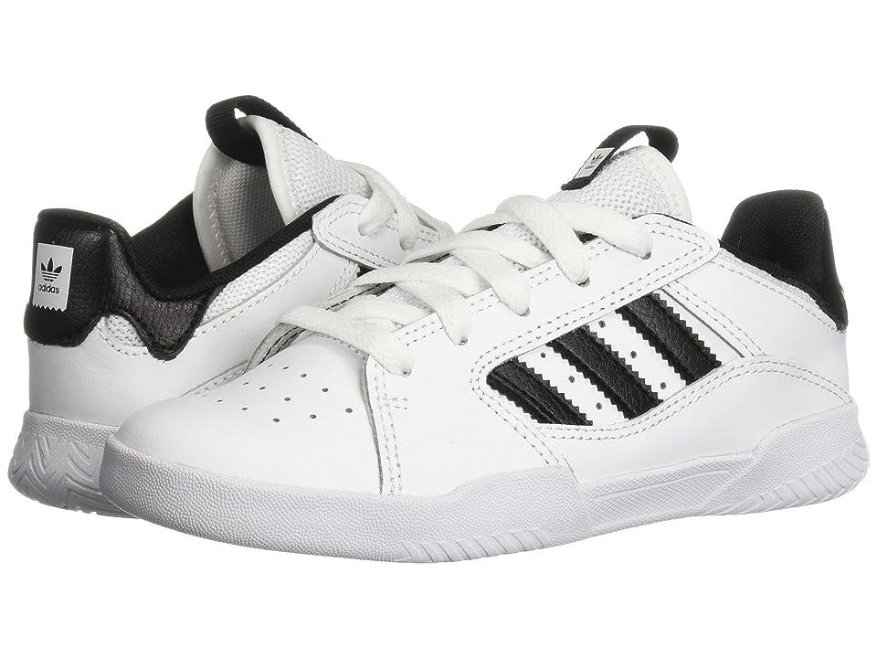 adidas Skateboarding VRX Low (Little Kid/Big Kid) (White/Black/White) Men