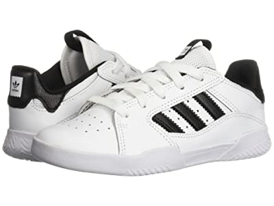 adidas Skateboarding VRX Low (Little Kid/Big Kid) (White/Black/White) Men