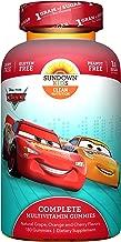 Sundown Kids Disney Cars Complete Multivitamin, 180 Count