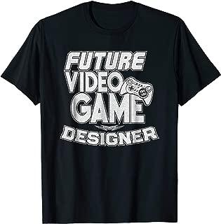 Future Video Game Designer T-Shirt Cool Gamer Tee