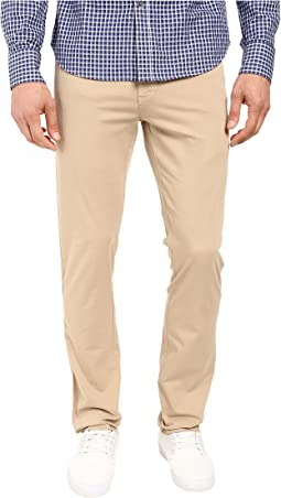 Sunny Stretch Five-Pocket Comact Twill Modern Fit Khaki