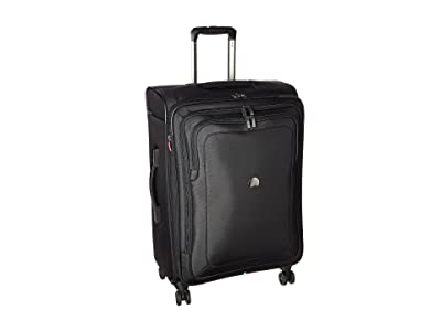 Delsey Cruise Lite Softside 25 Exp. Spinner Suiter Trolley (Black) Luggage