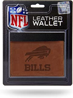 Rico Industries NFL Fan Shop Leather Trifold Wallet With Man Made Interior