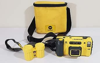 Minolta Weathermatic Dual 35 Camera 35mm Film Camera (Yellow & Black Version)