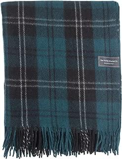 The Tartan Blanket Co. Recycled Wool Blanket Ramsay Blue Tartan (59