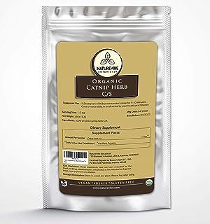 Sponsored Ad - Naturevibe Botanicals Organic Catnip Herb Tea Bulk Cut & Sifted (C/S) Loose Tea, 1lb | USDA Certified Organ...