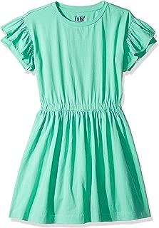 Amazon/ J. Crew Brand- LOOK by crewcuts Girl's Ruffle Sleeve Dress