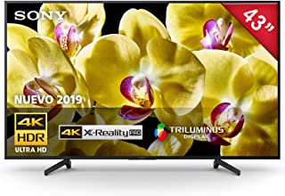 "Sony XBR-43X800G Pantalla 4K Ultra HD 43"" Android TV"