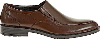 Hush Puppies Men's Irving Banker Dress Slip-On Shoes, Dark Brown