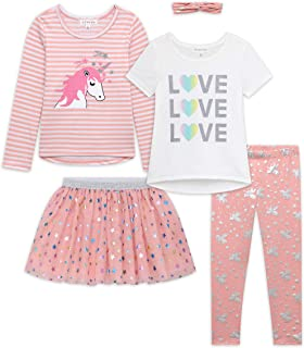Girls Kids Back To School Clothing and Accessory Set- 5pc...