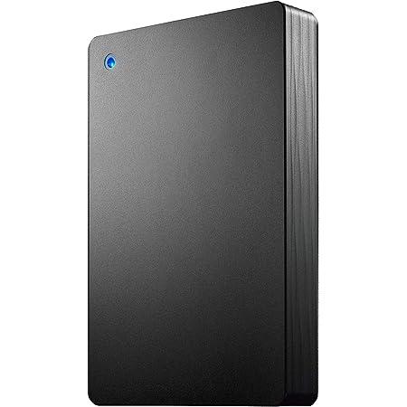 I-O DATA ポータブルHDD 4TB USB 3.1 Gen1/バスパワー/PC/Mac/静音/故障予測 日本製 土日サポート HDPH-UT4DKR/E
