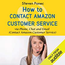 How to Contact Amazon Customer Service via Phone, Chat and Email