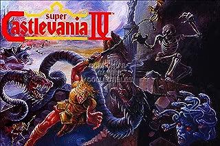 CGC Huge Poster - Castlevania IV Super Nintendo SNES Box Art - CAS012 (16