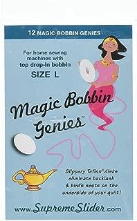 Lapierre Little Magic Bobbin Washers ~ Little Magic Bobbin Genies ~Size L Bobbin Cases ~ 12ct