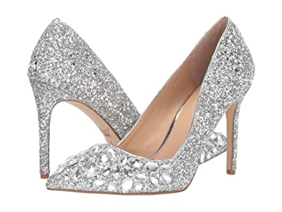 Jewel Badgley Mischka Ulyana (Silver) Women