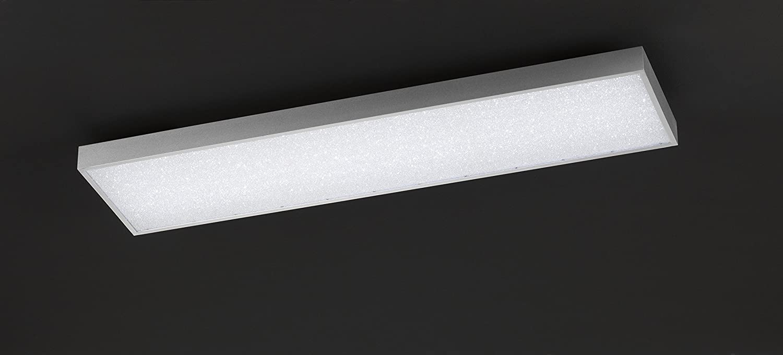 6.5 W WOFI Deckenleuchte Integriert Aluminium 120 x 30 x 90 cm Silber