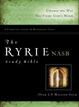The Ryrie NAS Study Bible Hardcover Red Letter (Ryrie Study Bibles 2012)