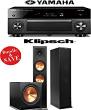 Yamaha RX-A3060BL AVENTAGE 11.2-Channel Network A/V Receiver + Klipsch RP-280F + Klipsch R-115SW - 2.1 Home Theater Package