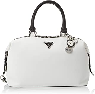 Guess Womens Satchel Bag, White Multi - VY766506
