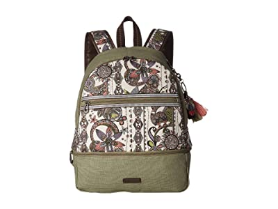 Sakroots Entrada Backpack (Pastel Spirit Desert) Backpack Bags